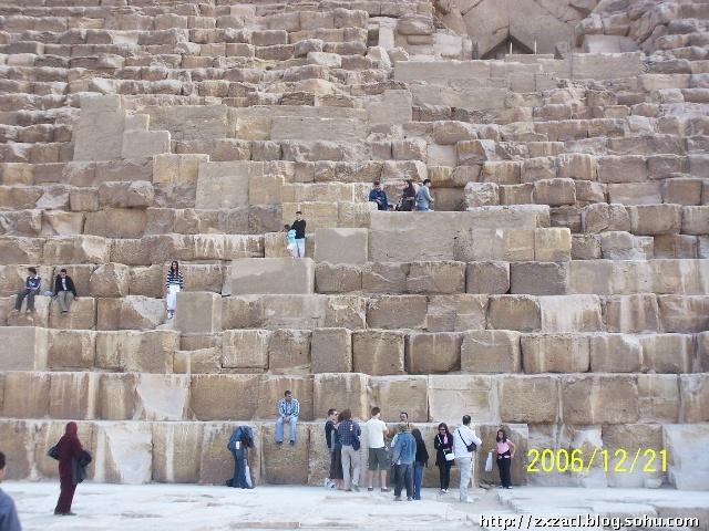 胡夫金字塔近影