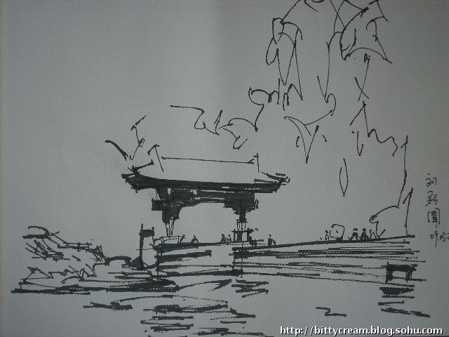 牛人超强钢笔画 耗时二十四小时画出38幅