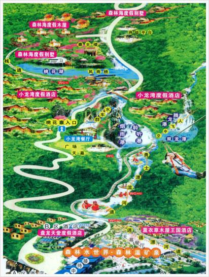 四川南部盘龙地图