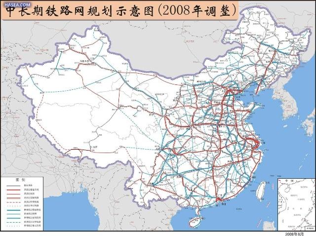 中国行政区划及主要城市圈规划图