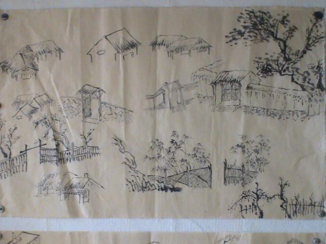 画桥简单画法_儿童画桥的画法