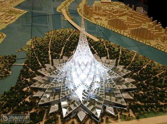 世界最大的建筑物-莫斯科水晶岛