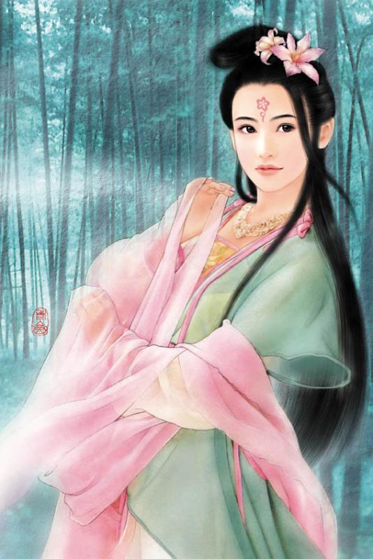 手绘之--顶级中国古代美女
