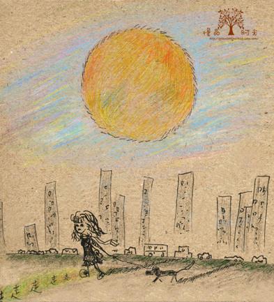 手绘插画---日/夜-慢品时光 悠闲小馆-搜狐博客