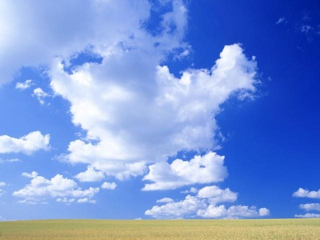 当你忧伤难过时,请仰望天空吧