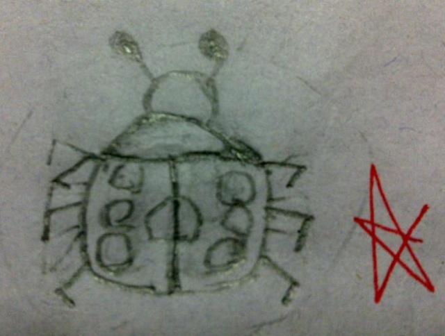 简笔画——小家伙小学一年级上学期作品集-莲在心中-一年级新年简笔