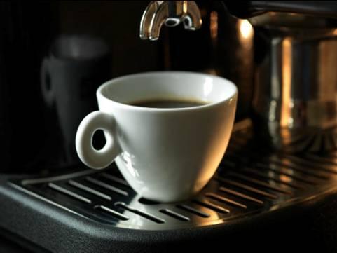 商务休闲喝咖啡背景 素材