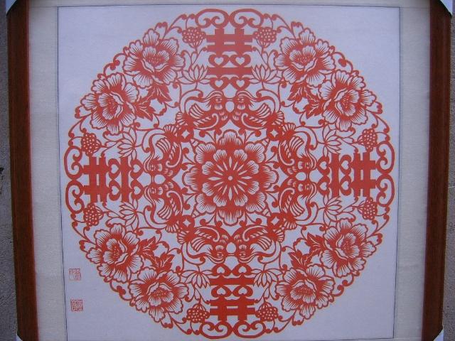 八折团花剪纸图片展示_八折团花剪纸相关图片下载